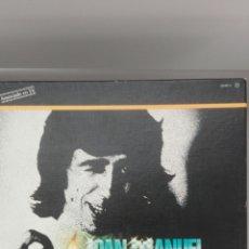 Discos de vinilo: JUAN MANUEL SERRAT, ÁLBUM CON 4 LPS, EDITADO EN 1981. Lote 201258172