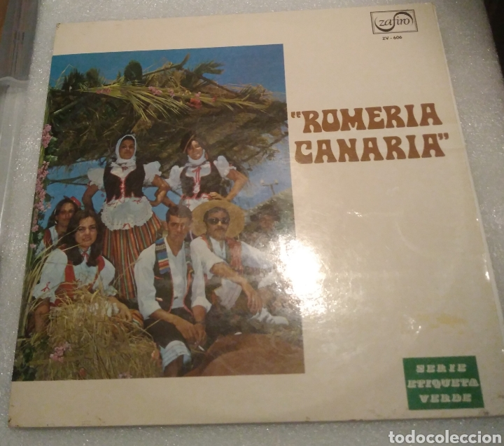 ROMERÍA CANARIA . ZAFIRO 1971 (Música - Discos - LP Vinilo - Country y Folk)