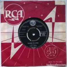 Discos de vinilo: FRANK SNOW. BEGGAR TO A KING/ POOR LITTLE JIMMIE. RCA, UK 1961 SINGLE. Lote 201266432