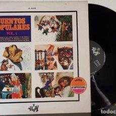 Discos de vinilo: CUENTOS POPULARES VOL1. Lote 201302166