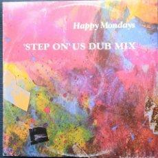 Discos de vinilo: HAPPY MONDAYS: STEP ON US DUB MIX - MAXI VINILO 12 PULGADAS - MAXI-SINGLE 1991. Lote 201320832