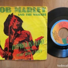 Dischi in vinile: BOB MARLEY: IMPROVISANDO (JAMMING) SINGLE ESPAÑOL. Lote 201337685