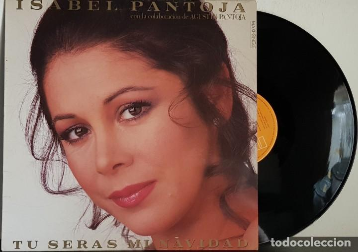 ISABEL PANTOJA - TU SERA MI NAVIDAD MAXISINGLE (Música - Discos de Vinilo - Maxi Singles - Flamenco, Canción española y Cuplé)