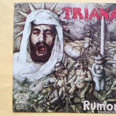 Discos de vinilo: TRIANA - SPANISH PS - MINT * RUMOR / RECUERDOS DE TRIANA *SE VENDE SOLO LA PORTADA SIN VINILO DENTRO. Lote 201343052