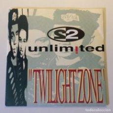 Discos de vinilo: 2 UNLIMITED – TWILIGHT ZONE SCANDINAVIA 1992 CNR RECORDS. Lote 201344457