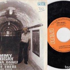 Discos de vinilo: JIMMY LINDSAY - I WANNA DANCE - SINGLE ESPAÑOL DE VINILO - REGGAE #. Lote 201354603