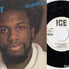 Discos de vinilo: RUDY GRANT - ISRAELITES - SINGLE ESPAÑOL DE VINILO - REGGAE #. Lote 201354680