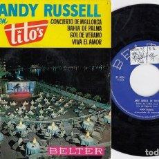 Discos de vinilo: ANDY RUSSELL - CONCIERTO DE MALLORCA - EP VINILO EN DIRECTO EN TITO'S #. Lote 201360201