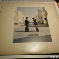 Discos de vinilo: LP PINK FLOYD. WISH YOU WERE HERE. HARVEST 1975 SPAIN CON FUNDA INTERIOR ORIGINAL (PROBADO Y BIEN(. Lote 229082473