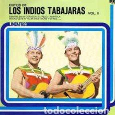 Discos de vinilo: LOS INDIOS TABAJARAS - LOS EXITOS DE LOS INDIOS TABAJARAS VOL. II. Lote 201467537