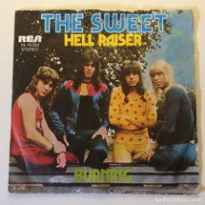 Dischi in vinile: THE SWEET – HELL RAISER / BURNING GERMANY 1973 RCA VICTOR. Lote 201469232