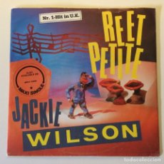 Disques de vinyle: JACKIE WILSON – REET PETITE / YOU BROUGHT ABOUT A CHANGE IN ME / I'M THE ONE TO DO IT DINAMARCA. Lote 201469578