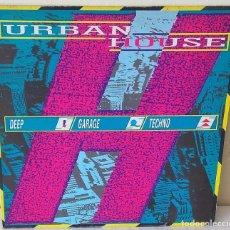 Discos de vinilo: URBAN HOUSE - VARIOS GRUPOS URBAN EDIC. INGLESA- 1989. Lote 201474335