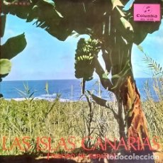 Discos de vinilo: ISLAS CANARIAS TESORO DE ESPAÑA - LP + LIBRO ROQUE NUBLO AGRUPACION ARRECIFE AGRUPACION MILAN ETC #. Lote 201475438