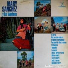 Discos de vinil: MARY SANCHEZ Y LOS BANDAMA - LA PERLA - LP DE VINILO FOLKLORE DE LAS ISLAS CANARIAS - 1970 #. Lote 201475898