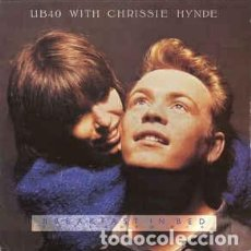 Discos de vinilo: UB40 WITH CHRISSIE HYNDE - BREAKFAST IN BED - 12 SINGLE - AÑO 1988. Lote 201481338