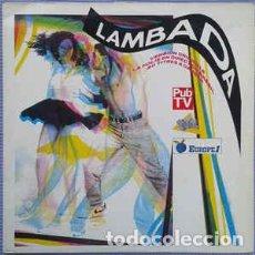 Discos de vinilo: VARIOS - LAMBADA (2XLP). Lote 201490897