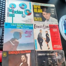 Discos de vinilo: LOTE 10 SINGLES MUSICA ESPAÑOLA. Lote 201490940