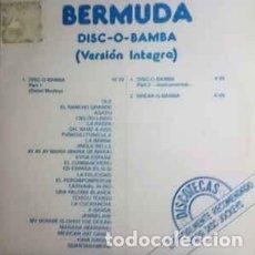 Discos de vinilo: BERMUDA - DISC-O-BAMBA. Lote 201491088