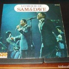 Discos de vinilo: SAM & DAVE LP LO MEJOR DE. Lote 201491438