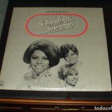 Discos de vinilo: DINA ROSS AND THE SUPREMES TRIPLE LP ANTHOLOGY. Lote 201492447