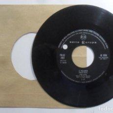 Discos de vinilo: SINGLE - GIANNI MECCIA - A: IL PULLOVER - B: S'E FATTO TARDI - RCA. Lote 201493243