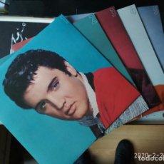 Discos de vinilo: ELVIS PRESLEY BOX DE 7 LPS Y LIBRETA FOTOS.. Lote 201499107