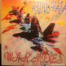 Discos de vinilo: ALDUS HAZA ?– WAR MIXES MOON RECORDS ?– 45 RPM SPAIN 1995. Lote 201504042