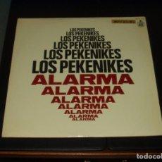 Discos de vinilo: PEKENIKES LP ALARMA. Lote 201509356