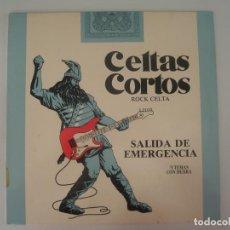 Discos de vinilo: CELTAS CORTOS SALIDA DE EMERGENCIA 1989 LP PRODUCCIONES TWINS SPAIN 4T-3105 - CELTAS CORTOS. Lote 201511173