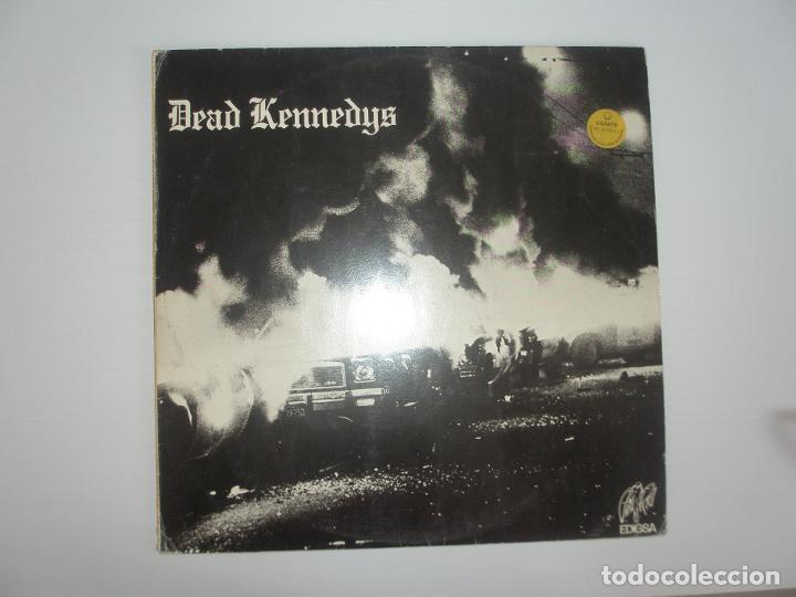DEAD KENNEDYS FRESH FRUIT FOR ROTTING VEGETABLES 1980 LP EDIGSA SPAIN 15L0079 5 - DEAD KENNEDYS (Música - Discos - LP Vinilo - Otros estilos)