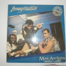 Discos de vinilo: IMAGINATION MUSIC AND LIGHTS 1982 MXSG RED BUS RECORDS MOVIEPLAY SPAIN 05.3435/5 - IMAGINATION. Lote 201511851