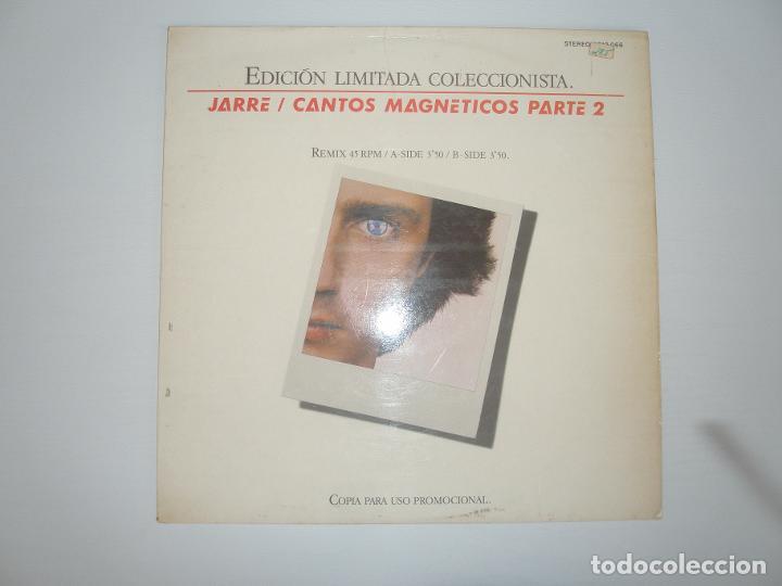 JEAN MICHEL JARRE CANTOS MAGNETICOS PARTE 2 1981 MXSG DREYFUS POLYDOR SPAIN 2812 066 - JEAN MICHEL J (Música - Discos de Vinilo - Maxi Singles - Otros estilos)