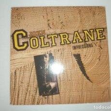 Discos de vinilo: JOHN COLTRANE IMPRESSIONS 1985 LP JAZZ MASTERWORKS ITALY CJZLP 2 - JOHN COLTRANE. Lote 201511981
