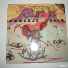 Discos de vinilo: KREATOR ENDLESS PAIN 1989 LP NOISE INTERNATIONAL CANADA FW 44455 - KREATOR. Lote 201512158