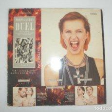 Discos de vinilo: PROPAGANDA DUEL 1985 MXSG ISLAND SPAIN F-601.687 - PROPAGANDA. Lote 201512905