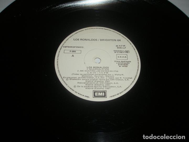 LOS RONALDOS / BRIGHTON 64 1987 MXSG EMI SPAIN P-086 - LOS RONALDOS / BRIGHTON 64 (Música - Discos de Vinilo - Maxi Singles - Otros estilos)