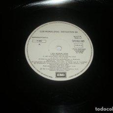 Discos de vinilo: LOS RONALDOS / BRIGHTON 64 1987 MXSG EMI SPAIN P-086 - LOS RONALDOS / BRIGHTON 64. Lote 201514028