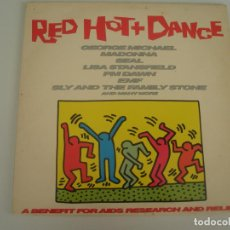 Discos de vinilo: RED HOT + DANCE GEORGE MICHAEL MADONNA SEAL LISA STANFIELD PM DAWN EMF SLY AND THE FAMILY STONE AND . Lote 201514308