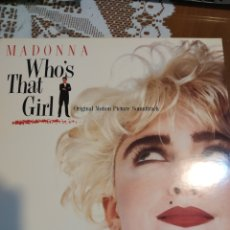 Discos de vinilo: MADONNA. WHO'S THAT GIRL. Lote 201514767