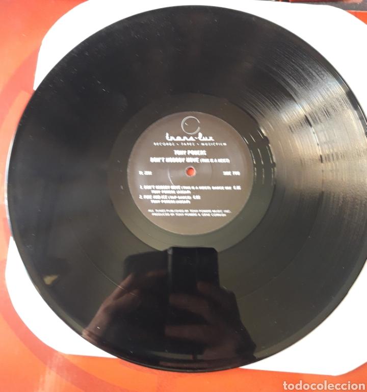 Discos de vinilo: Tony Powers - EP 33 rpm vinilo Dont Nobody Move - USA 1984. KISS Odyssey The Elder raro!! - Foto 3 - 201516871