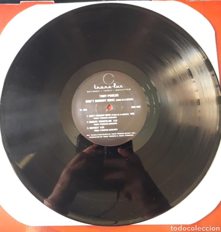 Discos de vinilo: Tony Powers - EP 33 rpm vinilo Dont Nobody Move - USA 1984. KISS Odyssey The Elder raro!! - Foto 4 - 201516871