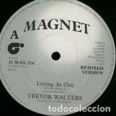 Discos de vinilo: TREVOR WALTERS - LOVING AS ONE - 12 SINGLE - 1982. Lote 201517815