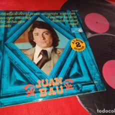 Disques de vinyle: JUAN BAU 2LP 1976 ZAFIRO GATEFOLD VINILO. Lote 201530533