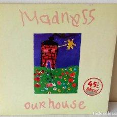 Discos de vinilo: MADNESS - OUR HOUSE MAXI STIFF - 1983. Lote 201532858