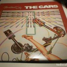 Discos de vinilo: LP THE CARS. HEARTBEAT CITY. ELEKTRA 1984 USA CARPETA DOBLE (PROBADO Y BIEN, SEMINUEVO). Lote 201533517