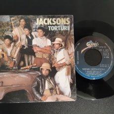 Discos de vinilo: JACKSONS. TORTURE. EPIC. 1984. SPAIN. Lote 201549417