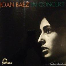 Discos de vinilo: JOAN BAEZ - IN CONCERT - LP VINILO - VINYL LP - 1962 MONO PRESSING - FOLK. Lote 201551278