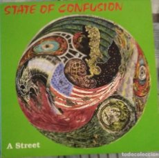Discos de vinilo: STATE OF CONFUSION: A STREET . LP VINILO - VINYL LP. 1988 HARDCORE-PUNK. Lote 201551908
