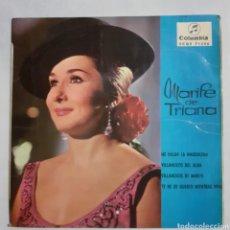 Discos de vinilo: MARIFE DE TRIANA. ME VALGA LA MAGDALENA. EP. COLUMBIA ECGE 71356. 1960. FUNDA VG+. DISCO VG+. Lote 201556791